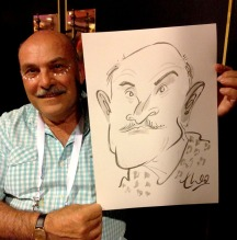 Ted Key Live Caricature Portrait 14 copy