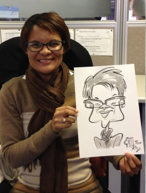 Ted Key Live Caricature Portrait 18 copy