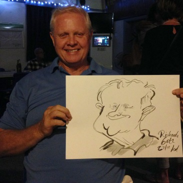 Ted Key Live Caricature Portrait 53