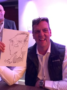 Ted Key Live Caricature Portrait 57