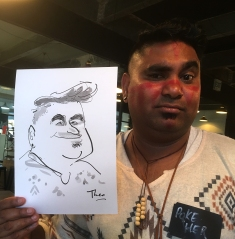 Caricature -cape town 7